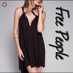 Free People Dresses - Free people island harbor black dress. NWOT